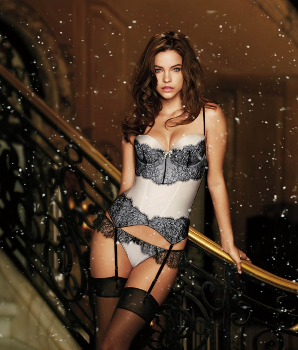 lookbook victoria's secret angels lingerie amerika holiday 2012