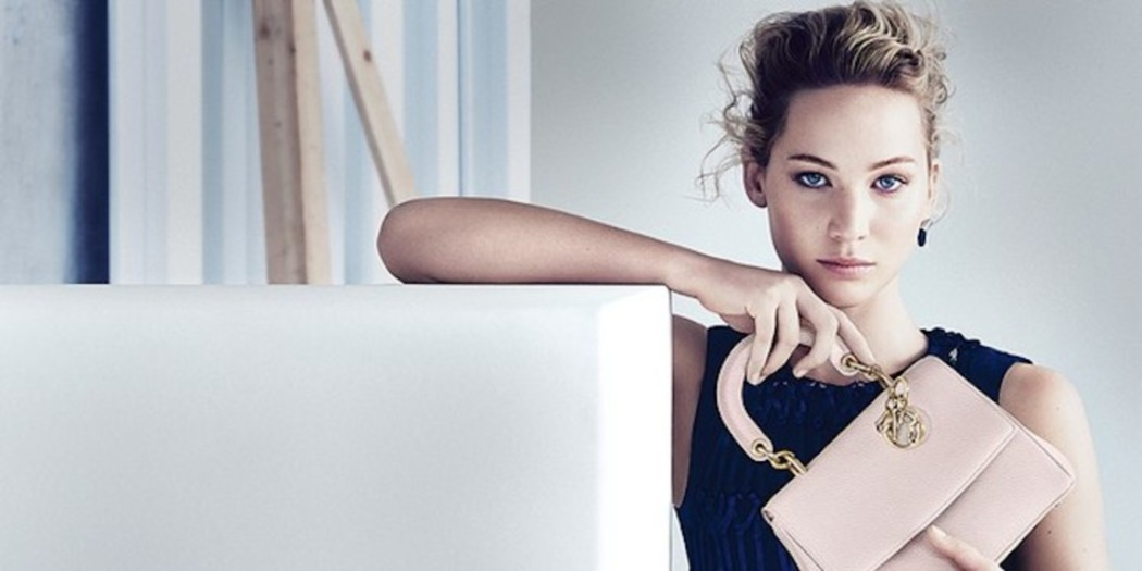 Jennifer Lawrence is stunning in Dior campagne