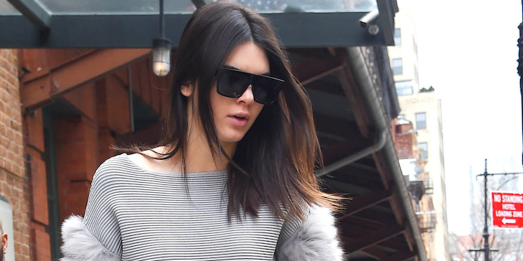 Outfit of the Day: Kendall Jenner in skirt-pants