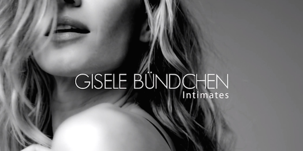 Gisèle Bündchen showt body in Intimates campagne video