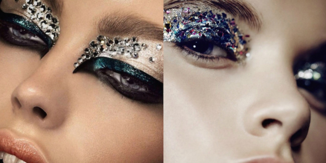 Make-up trend: glitters