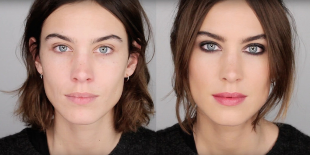 Lisa Eldridge transformeert Alexa Chungs winter face