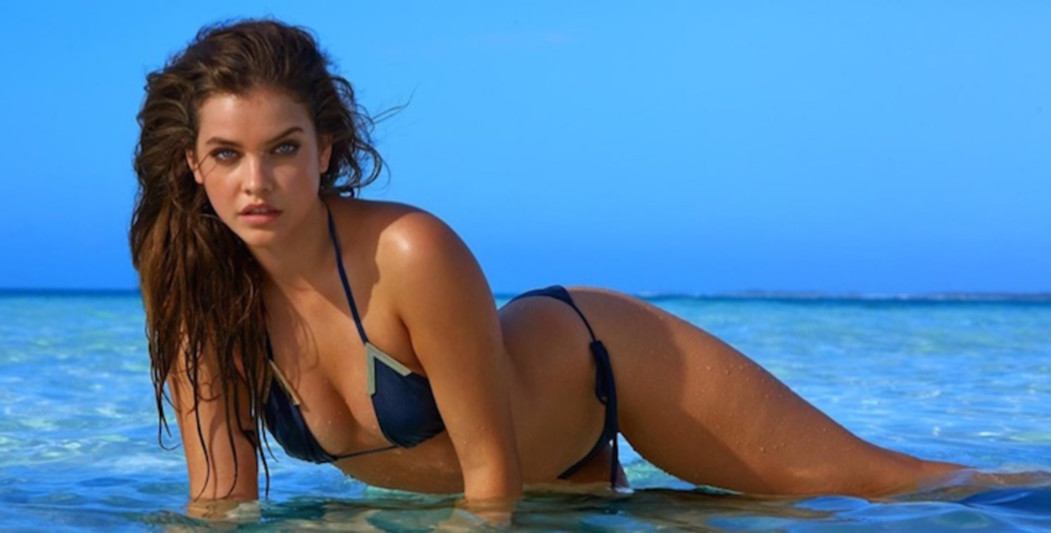 Barbara Palvin showt curves in Sports Illustrated