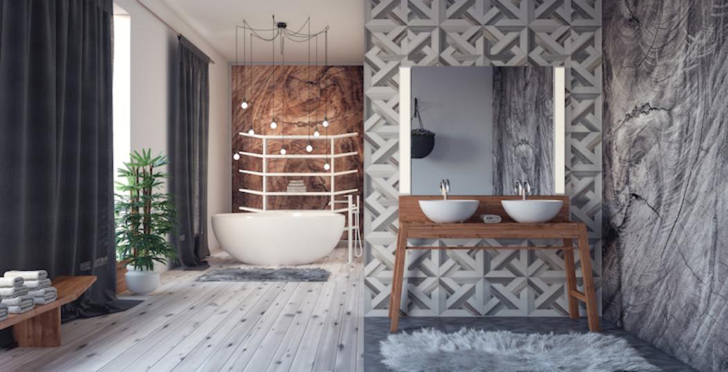 Dit zijn de 15 mooiste badkamers die je ooit hebt gezien! trendalert