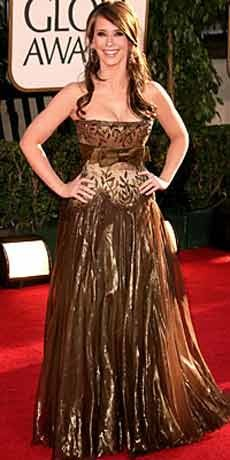 Jennifer Love Hewitt bij Golden Globes 2007