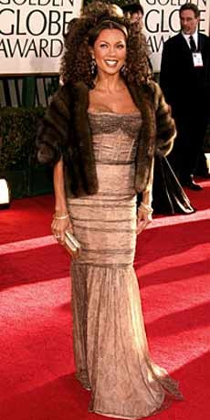 Vanessa Williams bij Golden Globes 2007