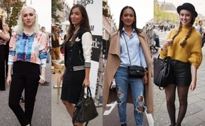 Streetstyle: Vogue Fashion's Night Out | P.C Hoofdstraat