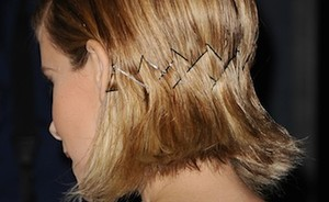 Haartrend: bobby pins
