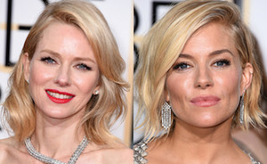 Golden Globes 2015: de mooiste beauty looks
