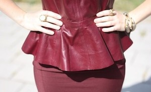 Be inspired: peplum it up!