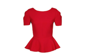 10 x peplum top