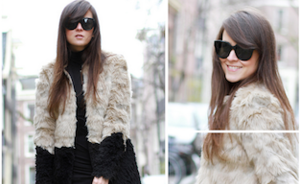 Bloggers love faux fur
