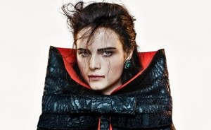 Anna de Rijk in Halloween style voor Vogue