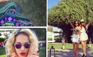 Van Rita Ora tot Whitney Port: Coachella in Instagram-foto's