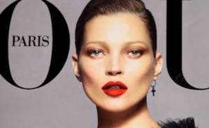 Video: Kate Moss Vogue cover make-up tutorial
