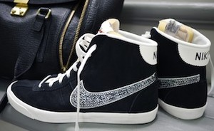 Made by me: Crystal Studded Nike's