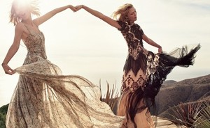 Karlie Kloss & Taylor Swift op cover Vogue