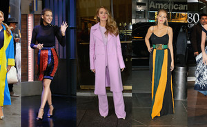 Blake Lively rockt 14 outfits in 3 dagen!