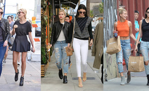 Style File: Kendall Jenner & Hailey Baldwin