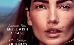 Lily Aldridge prachtig in Nederlandse L'Officiel