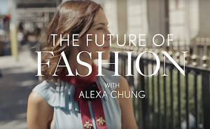 Alexa Chung x Vogue: The Future of Fashion