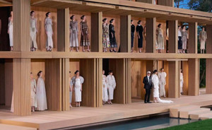 Chanel showt Haute Couture spring 2016 collectie in Parijs