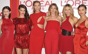 L'Oreal Paris Fashion Week #redobsession party