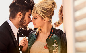 Gigi Hadid en lover Zayn Malik  in Vogue