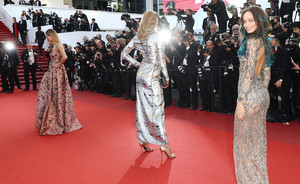 Cannes day 7: L'Oréalista models take the red carpet