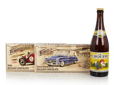 Classic wheels bier chocolade