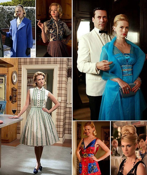 actrices mad men betty draper stijl