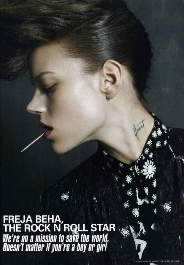 Tattoo crush: Freja Beha Erichsen ?