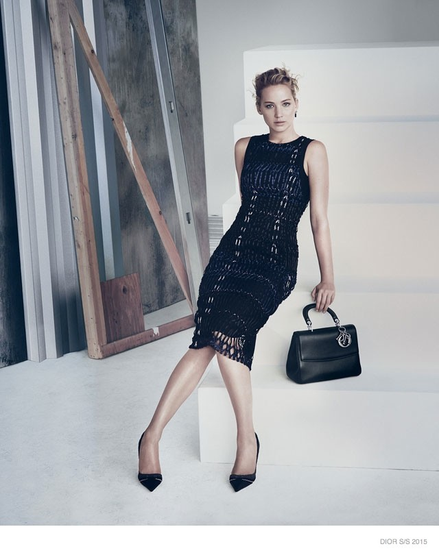 Jennifer Lawrence is stunning in de nieuwe Dior campagne