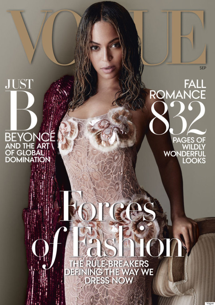 Beyoncé is Vogue's september covergirl