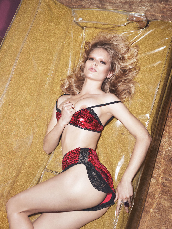 10 supersexy supermodellen voor W magazine