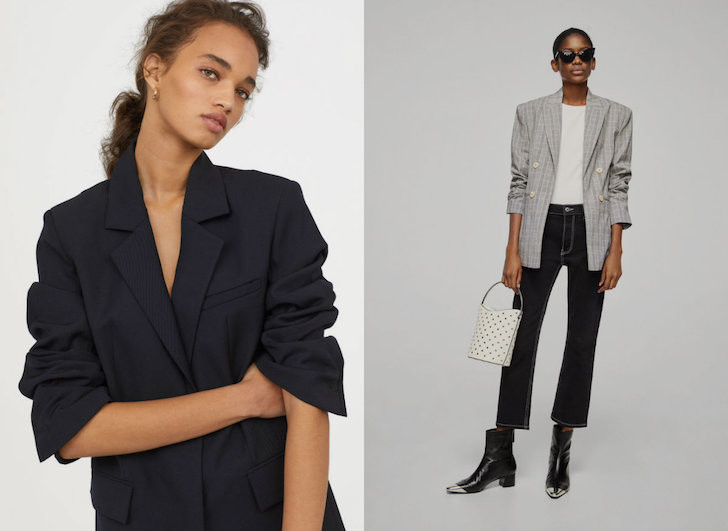 blazer trend eighties oversized