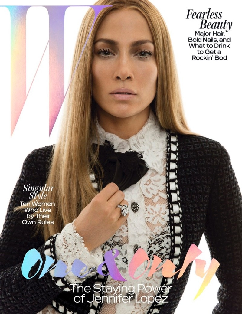 Jennifer Lopez in stunning W Magazine shoot