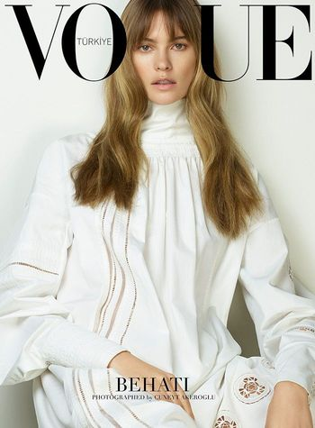 Vogue Turkey viert jubileum met 5 covers