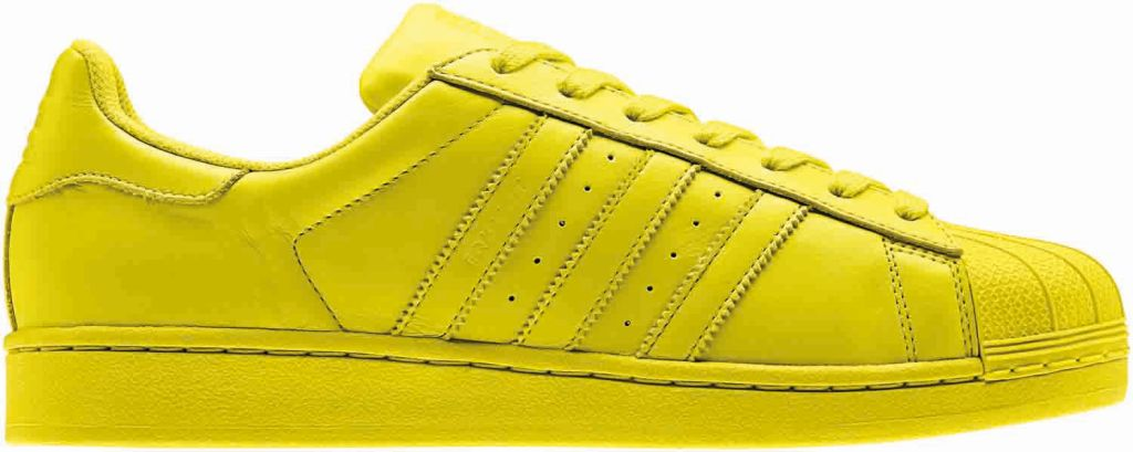 Adidas en Pharrell Williams introduceren Supercolor