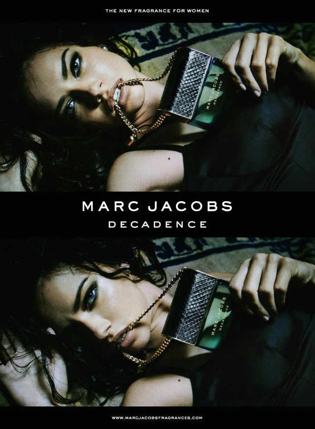First look: Adriana Lima voor Marc Jacobs Decadence