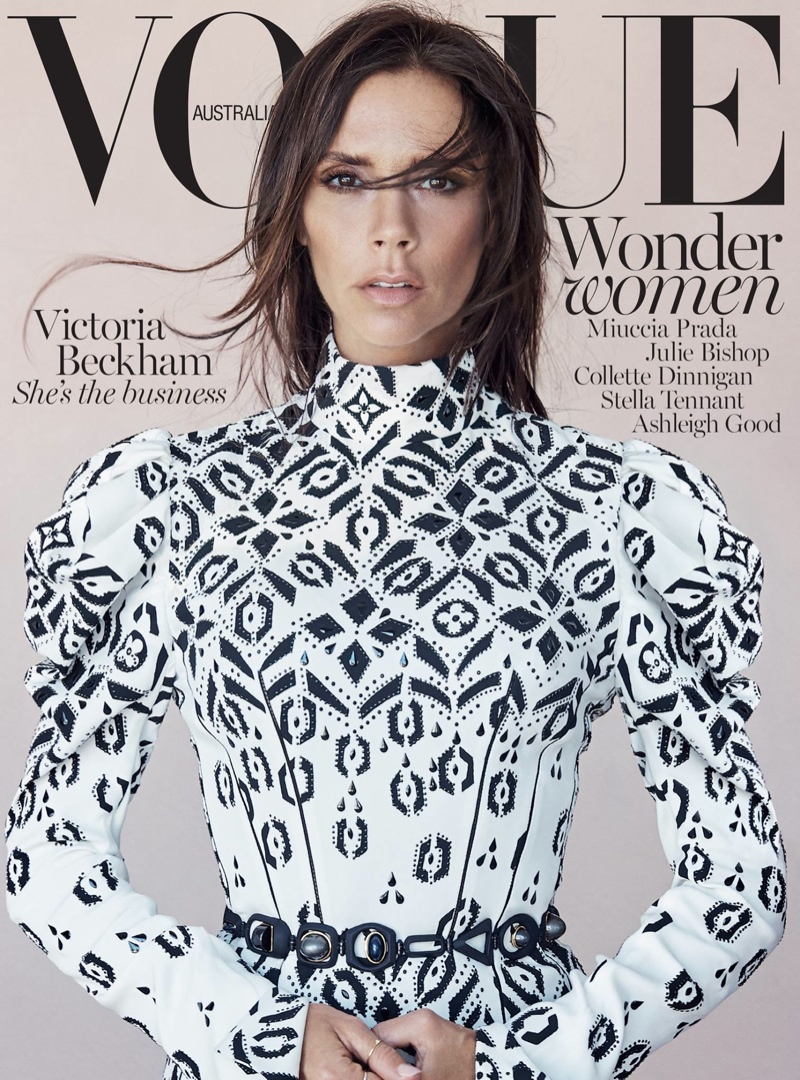 Victoria Beckham is prachtig in Vogue Australia