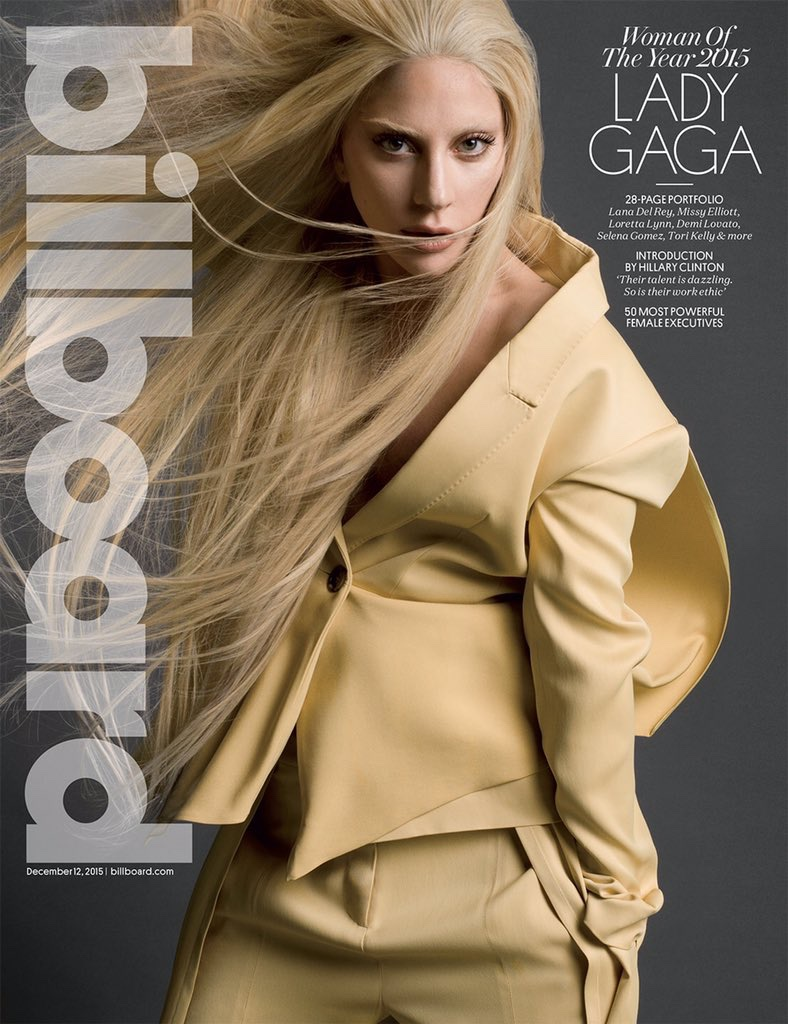 Lady Gaga Woman of the Year 2015