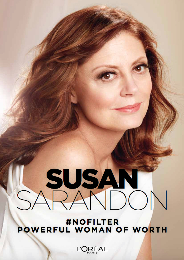 Susan Sarandon is L'Oréal Paris' nieuwe spokesperson