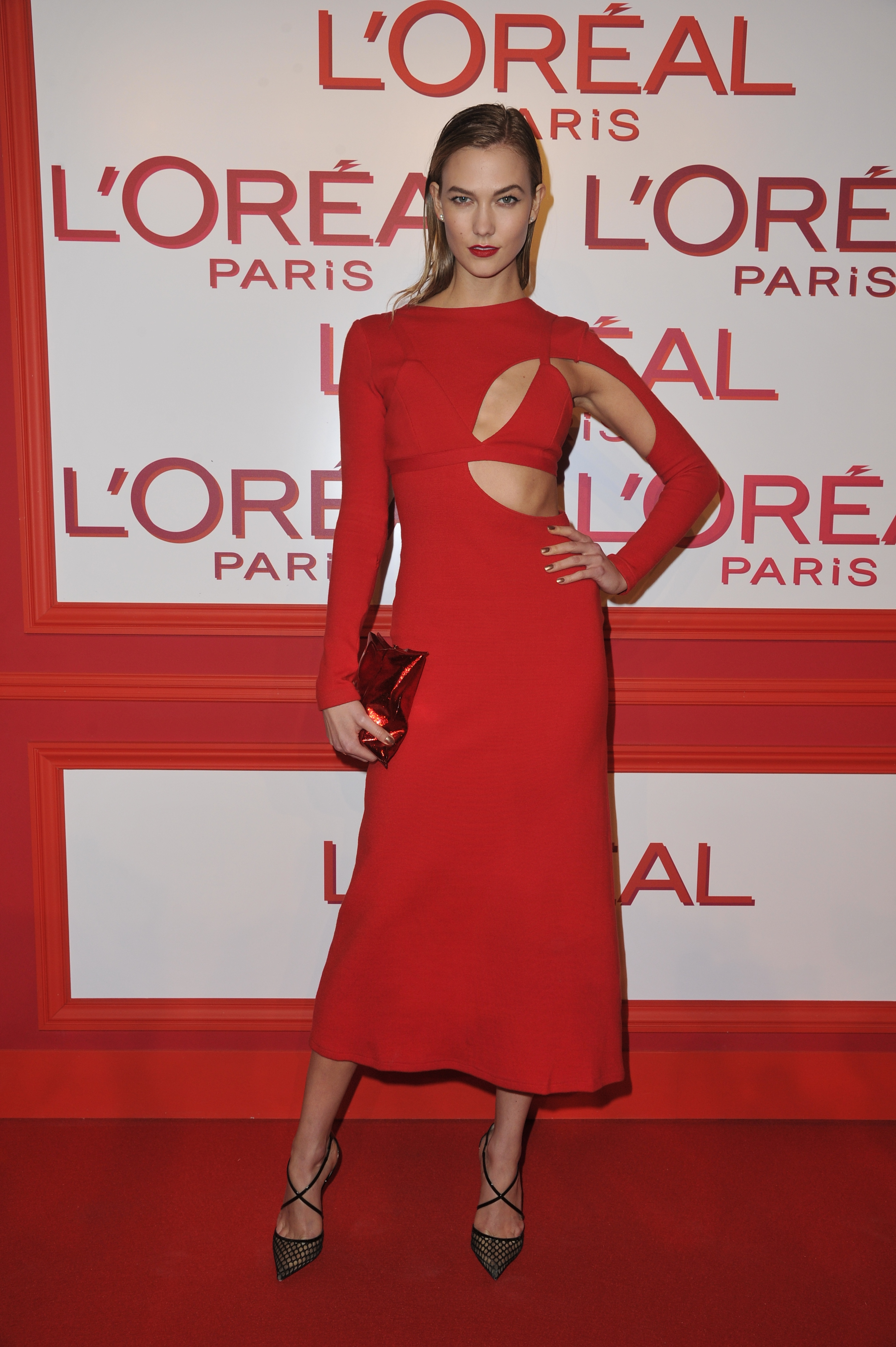 L'Oreal Paris Fashion Week red obsession party