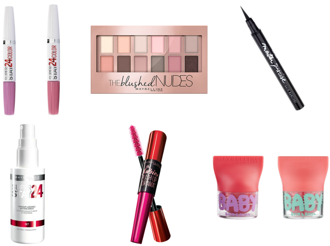 April giveaway: Maybelline goodiebag t.w.v. €100