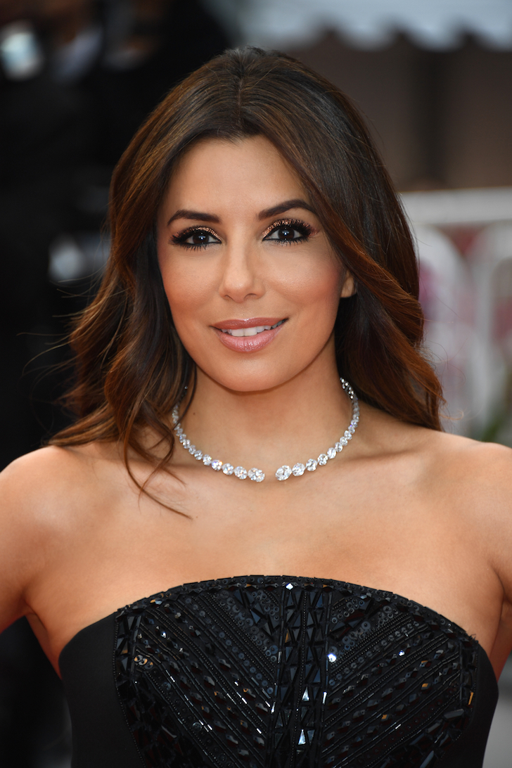 Shop de red carpet beauty look van Eva Longoria hier!