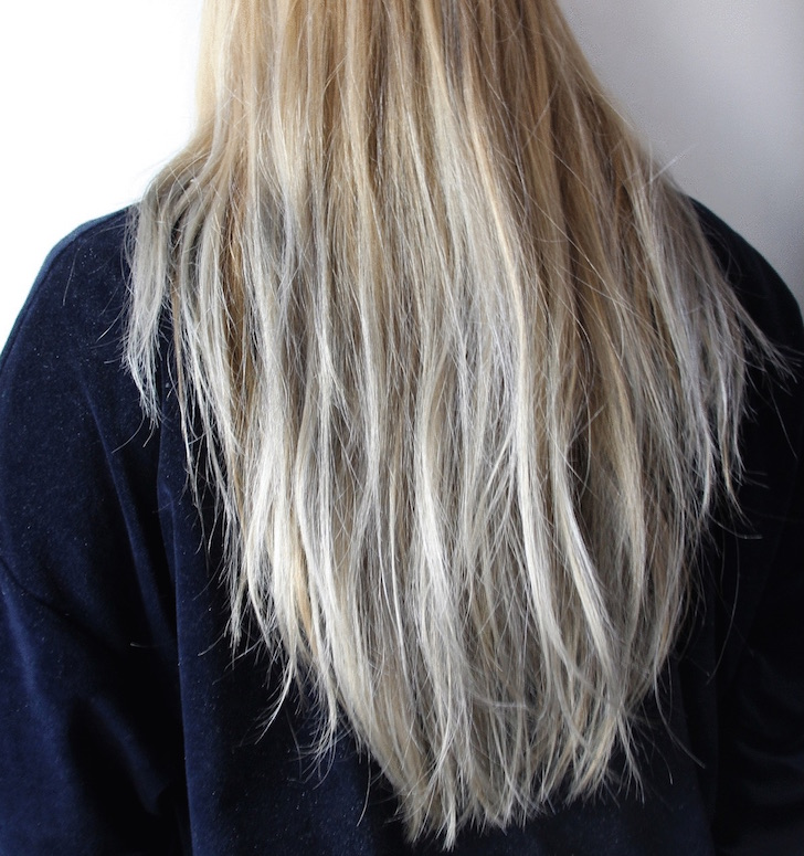 Zo kleur jij je haar super easy in alle kleuren trendalert - Grijze kleur donkerder ...