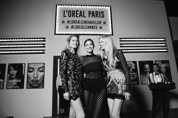loreal cinema party