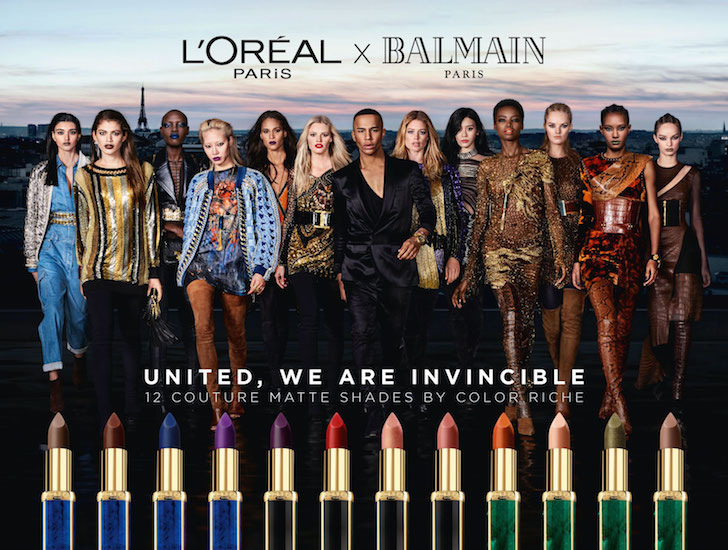 loreal paris x balmain collectie