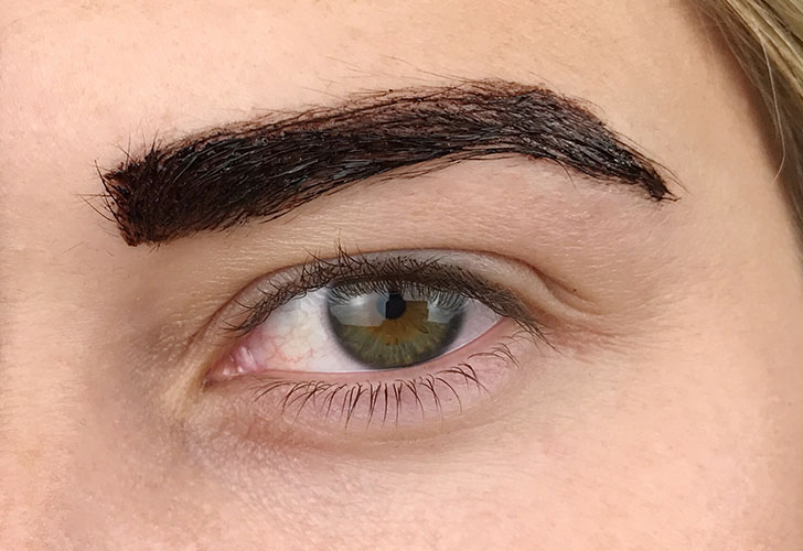 brow tattoo maybelline